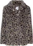SAINT TROPEZ Leopard Faux Fur Jacket Fuskepels Brun SAINT TROPEZ