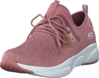 Skechers Womens Meridian Ros, Sko, Sneakers og Treningssko, Sneakers, Rosa, Dame, 36