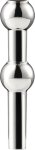 STOFF vase til lysestakeskulptur krom Stoff Copenhagen