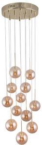 Skyfall Pendel Amber - Globen Lighting