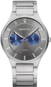 Bering 11539-777 Titanium Sølvfarget/Titan Ø39 mm