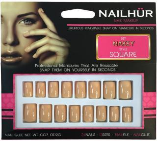 Nailhur Square Nakey