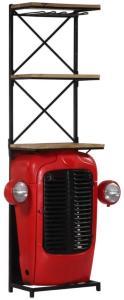 vidaXL Traktor-vinskap 49x32x183 cm heltre mango