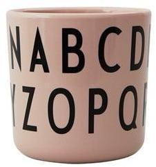 Design Letters Spis&Lær ABC Melamin Kopp Rosa