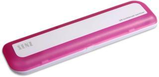 SENZ REISERENSEBOKS FOR TANNBØRSTE MED UV-LYS (ROSA)