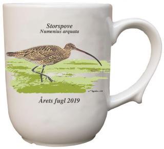 Storspove krus Årets fugl 2019