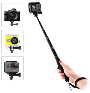 GoPro Hero & Actionkameraer Selfiestang - Svart
