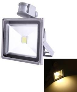 Lyskaster LED 50W med bevegelsessensor