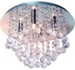 merkur taklampe 4xg9 med krystaller
