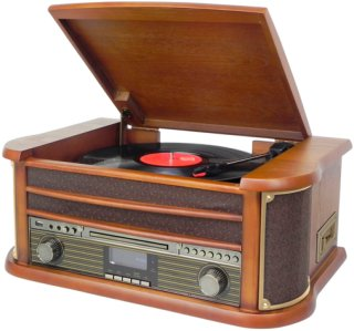 Soundmaster Retro platespiller Bluetooth NR545DAB Unisex
