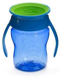 Wow Cup Baby - Blue Tritan WOW holder tett og er lett å bruke, også for de minste