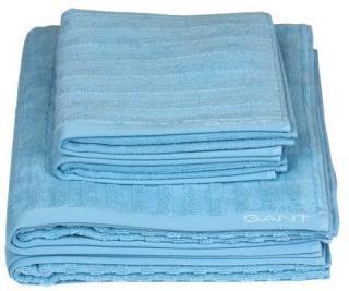 GANT Home Line Håndkle 100 % bomull 50x70 cm Crystal Blue Inget (Storm)