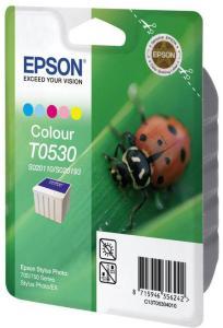 Epson T053 - farge (cyan, magenta, gul, lys cyan, lys magenta) - original - blekkpatron (C13T05304010)