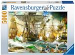 Battle on the High Seas 5000 biter Ravensburger Puzzle Puslespill