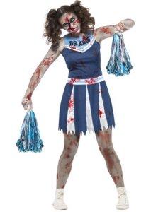 Zombie Cheerleader kostyme - tenåring