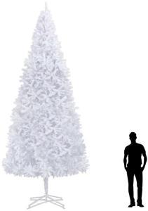 Kunstig juletre 500 cm hvit - Hvit