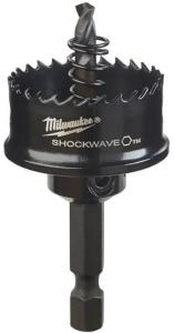 Core cutter with shank and pilot drill bit Milwaukee ShockWave 49569810 22x64 mm