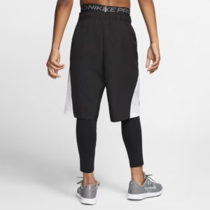 Nike Pro Tights SortHvit Dame Barn | unisportstore.no