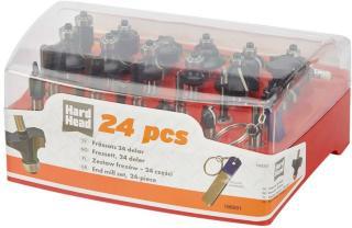 HARD HEAD Fressett 24deler
