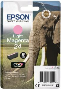 Epson 24 - lys magenta - original - blekkpatron (C13T24264022)