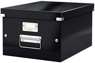 LEITZ Storage Box Click & Store Medium Black (6044-00-95)