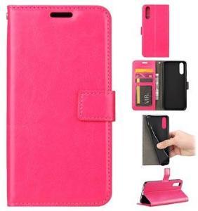 Huawei P20 Lommebok-deksel med Magnetisk Lukning - Varm Rosa