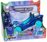 Pysjheltene turbo blast racerbil med Kattegutt-figur