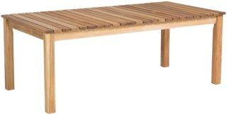 NORDFORM Sofabord Milton 60x120 cm Unisex Natur