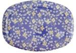 Rice Large Rectangular Melamine Plate Hanging Flower