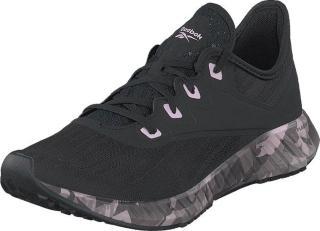 Reebok Flashfilm 2, Black/cold Grey 5/pixel Pink, Sko, Sneakers og Treningssko, Sneakers, Svart, Dame, 41