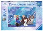 Ravensburger Puslespill, Frozen Ice Magic, 100 biter