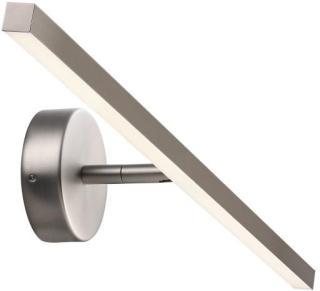 Nordlux IP S13 Gallerilampe-Børstet stål-B60 cm