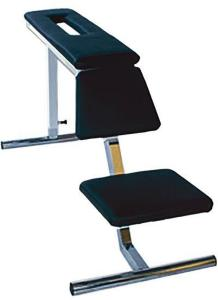 Eleiko Classic Bench for rowing excercises, Silver/Black