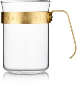 Barista&Co. 2 stk. kopper, med gullring