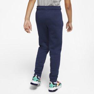 Nike Fleece Bukse SortHvit Barn