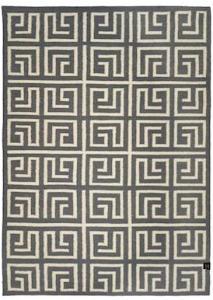Classic collection Labyrinth titanium teppe - 250x350