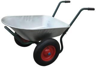 Trillebår med to hjul - 66 L