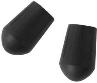 Helinox Chair Rubber Tips 13.2-pack, Black, OneSize