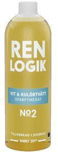 Ren Logik Hvit og Farget Vask Uparfymert - 750 ml
