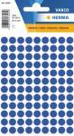 Herma Etikett Vario Ø 8mm mørkeblå 4008705018333 (Kan sendes i brev)