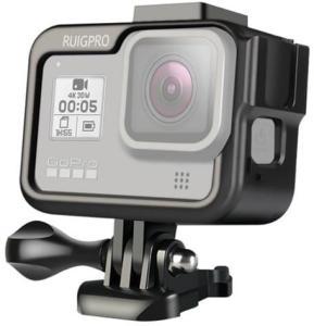 Beskyttelsesdeksel til GoPro HERO8 med stativfeste - Svart