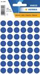 Herma Etikett Vario Ø 12mm mørkeblå 4008705018531 (Kan sendes i brev)