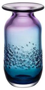 Kosta Boda Aurora Blå/Lilla Vase 320mm