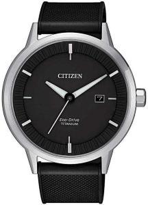 Citizen BM7420-15E Titanium Sort/Gummi Ø41 mm