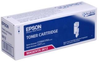 Epson 0612 Tonerkassett magenta, 1.400 sider S050612 Tilsvarer: N/A Epson