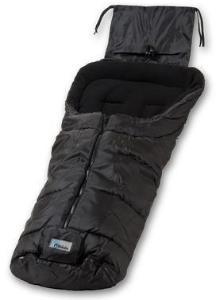 Altabebe Vintervognpose til barnevogn Active svart/svart