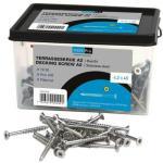 Terrasseskrue A2 rustfri torx 20 4,5x75 mm pakke a 200 stk Terrasseskruer rustfri A2, Novipro 7242344