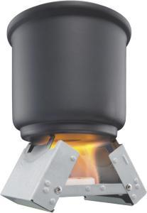 Esbit Small Tennbrikett Ovn Sølv, Inkludert 6 x 14g briketter
