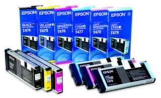 Epson T478 Blekkpatron lys magenta, 220 ml T478 Tilsvarer: N/A Epson