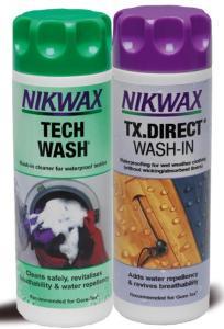NikWax Wash Impregnering 2 pk